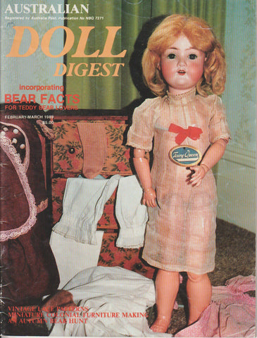 Australian Doll Digest 8902 - Feb/Mar 1989