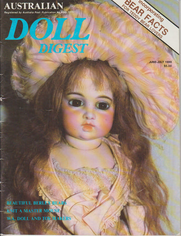Australian Doll Digest 8906 - Jun/Jul 1989