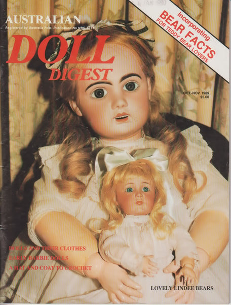 Australian Doll Digest 8910 - Oct/Nov 1989