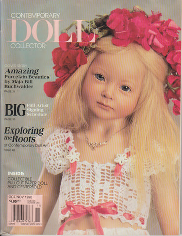 Contemporary Doll Collector 9610 - Oct 1996