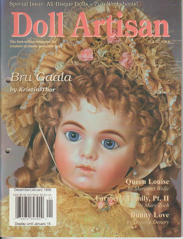 Doll Artisan 9712 -  Dec/Jan 1997