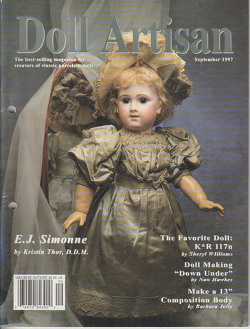 Doll Artisan 9708 -  Aug/Sep 1997