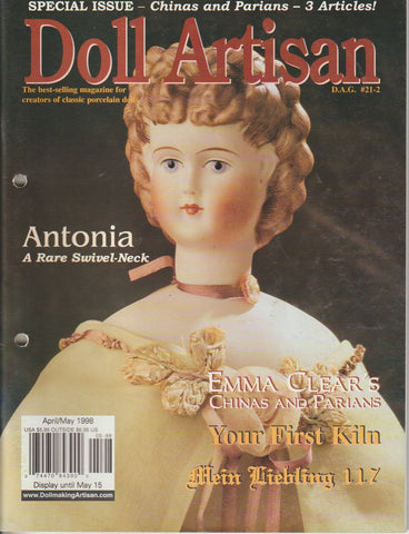 Doll Artisan 9804 -  Apr/May 1998