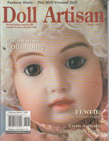 Doll Artisan 9802 -  Feb/Mar 1998