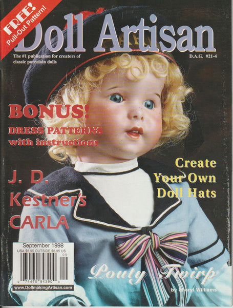 Doll Artisan 9808 -  Aug/Sep 1998