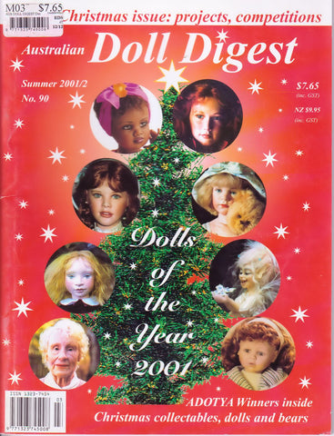 Australian Doll Digest 0112  -   Dec 2001