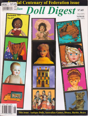 Australian Doll Digest 0103  -   Mar 2001