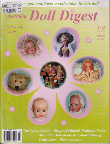 Australian Doll Digest 0109  -   Sep 2001