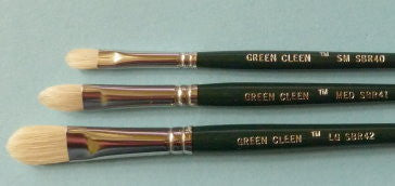Green Clean Kit  - 3 Brushes