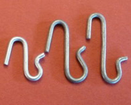 S Shaped Wire Hooks - Pack of 10