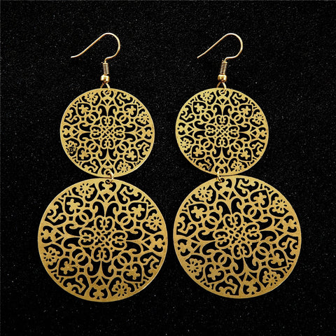 Bronze Earrings. FREE shipping