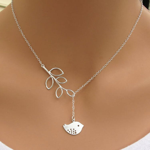 Stylish Bird Necklace. FREE shipping