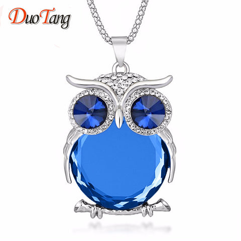 Owl Necklace. FREE shipping