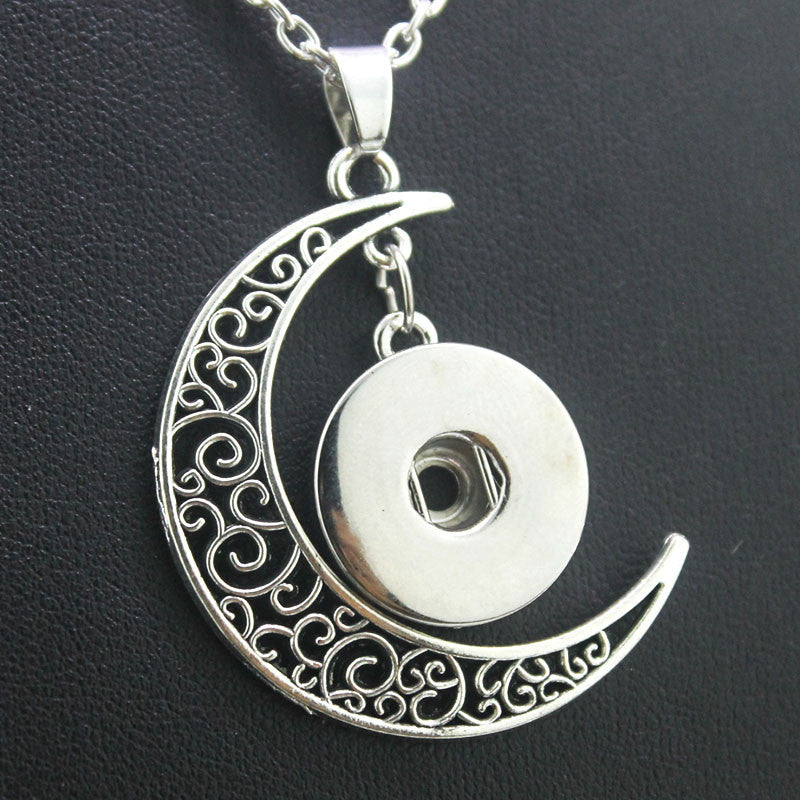 Moon Necklace. FREE shipping