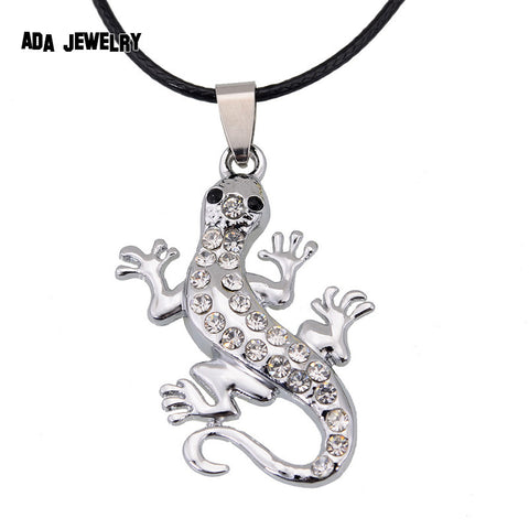 Lizard Necklace. FREE shipping