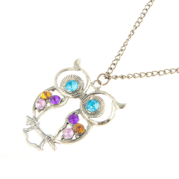 Owl Necklace (limited) FREE shippx