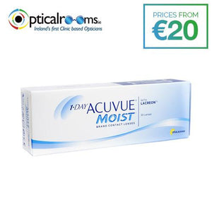 1-Day Acuvue Moist Contact Lenses LACREON Technology
