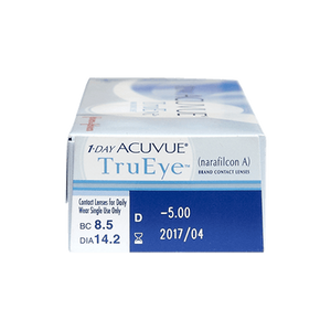 1-Day Acuvue TruEye Daily Contact Lens Hydraclear Technology