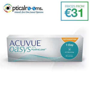 Acuvue Oasys Astigmatism 1-Day Daily Disposable Contact Lens