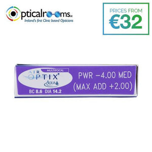 Air Optix Aqua Multifocal Monthly Disposable Contact Lenses