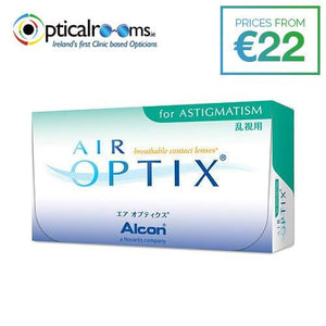 Air Optix for Astigmatism Toric Contact Lenses Ultra Smooth Surface Technology