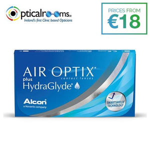 Air Optix plus HydraGlyde Monthly Disposable Contact Lens Smartshield Technology