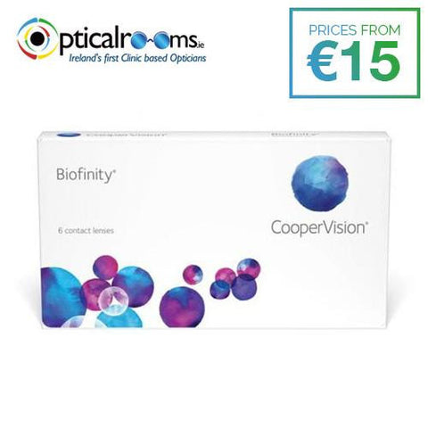 Biofinity Monthly Disposable Contact Lenses AquaForm Technology