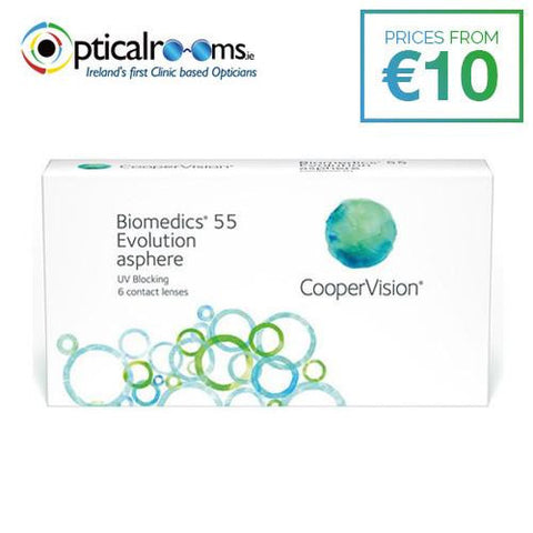 Biomedics 55 Evolution Monthly Disposable Contact Lenses