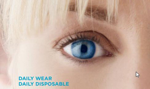 ACUVUE OASYS 1-Day Contact Lens Hydraluxe Technology