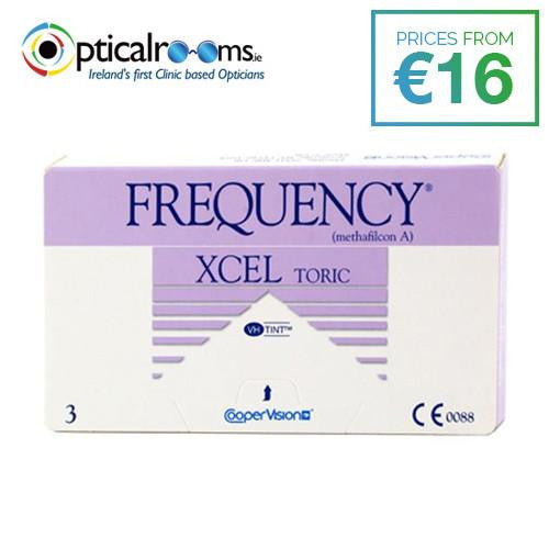Frequency Xcel Toric Contact Lenses for Astignatism