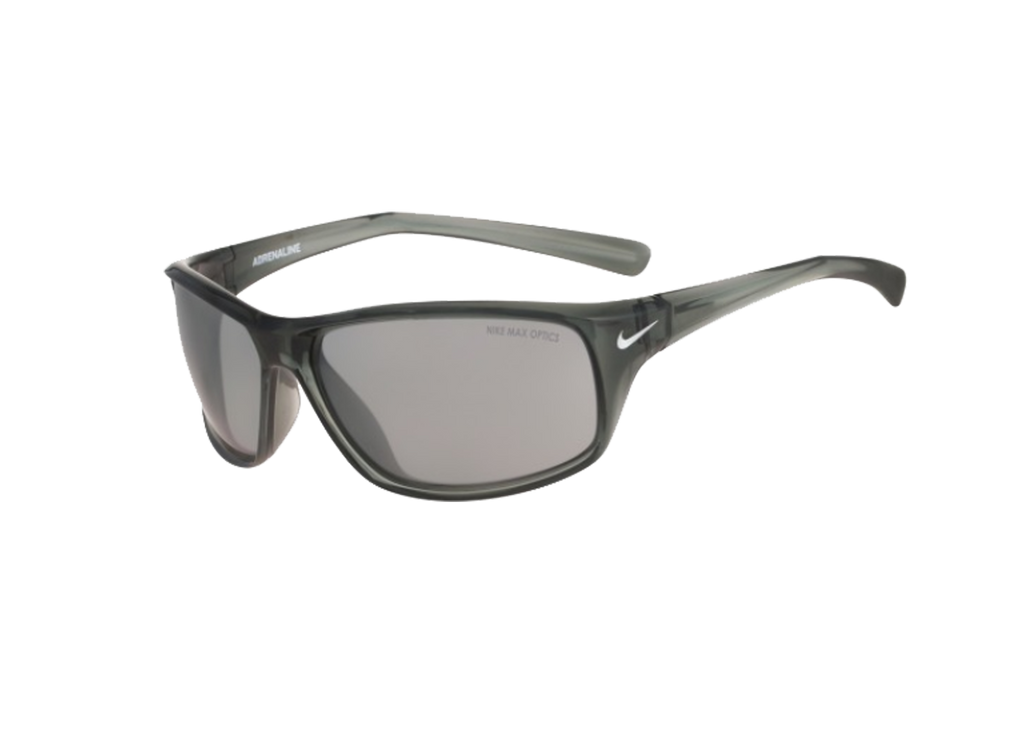 NIKE Sports Sunglasses ADRENALINE EV0605 MERCURY GREY/SILVER/GREY LENS