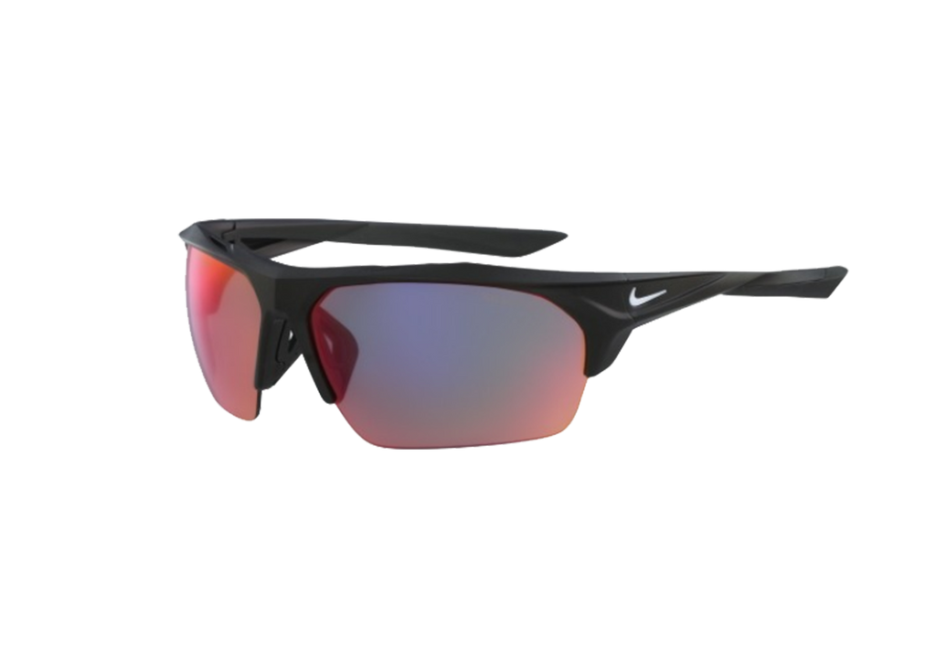 NIKE Sports Sunglasses NIKE TERMINUS M EV1031 MATTE BLACK/GREY ML INFRARED