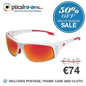 Bolle - Rainier 11549 Shiny White Designer Sunglasses