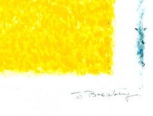 THE YELLOW FIELD Lithograph          John Breakey RUA