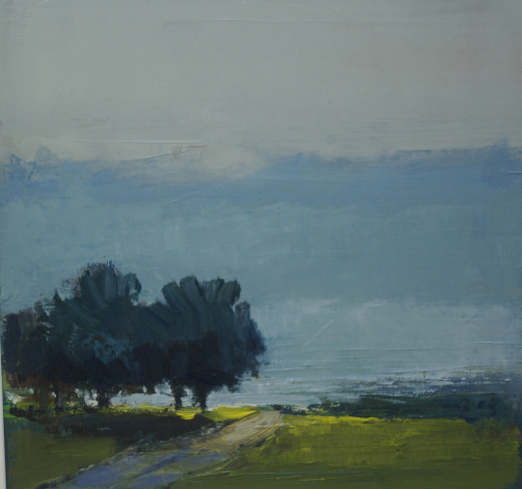 EVENING STROLL Oil on canvas                  Kate Beagan