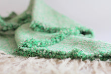 THROW/SHAWL in Grassy Green                                           Maria Cardenas