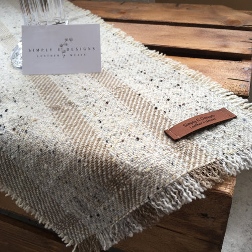 HAND WOVEN COFFEE TABLE RUNNER