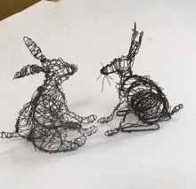WIRE SCULPTURE AND CERAMIC TRINKET WARE WORKSHOPS IN THE MOURNES 18&19-05-19