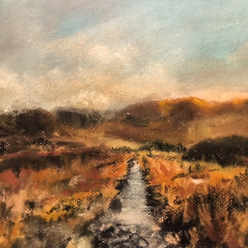 DREAMING OF THE MOURNES              Pastel on Paper            KAREN WALLIS