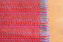 STRIPED LAMBSWOOL THROW