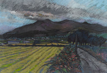 FROM BALLYLOUGHLIN TO DONARD Pastel 1997         Richard Croft RUA