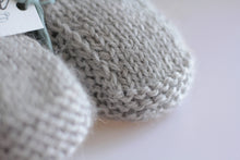 HAND-KNITTED BABY BOOTS