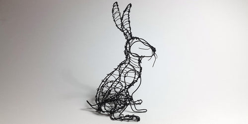 Wire Woven Hare Workshop        02.03.19