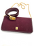 Christian Dior Vintage Burgundy Monogram Bag & Belt Set
