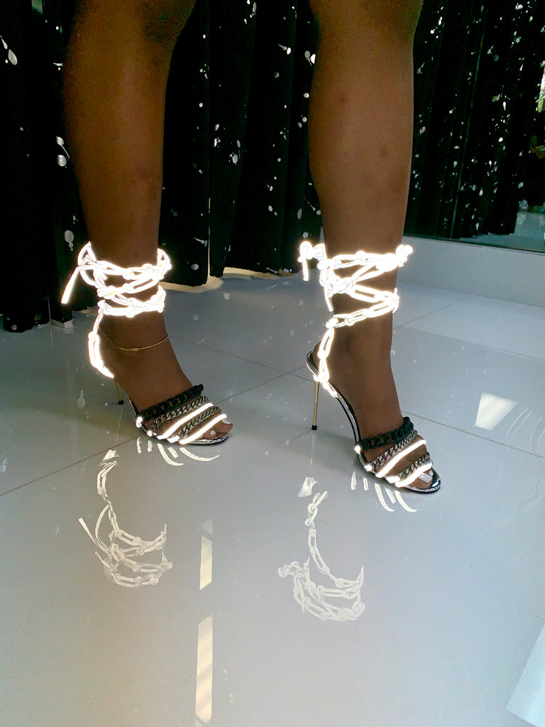 Glow Cuban Heels - SHOP SO REAL