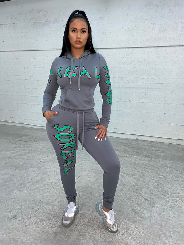 Gsuwoo Graffiti Sweats - SHOP SO REAL