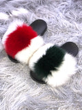 White G Fox Slippers - SHOP SO REAL