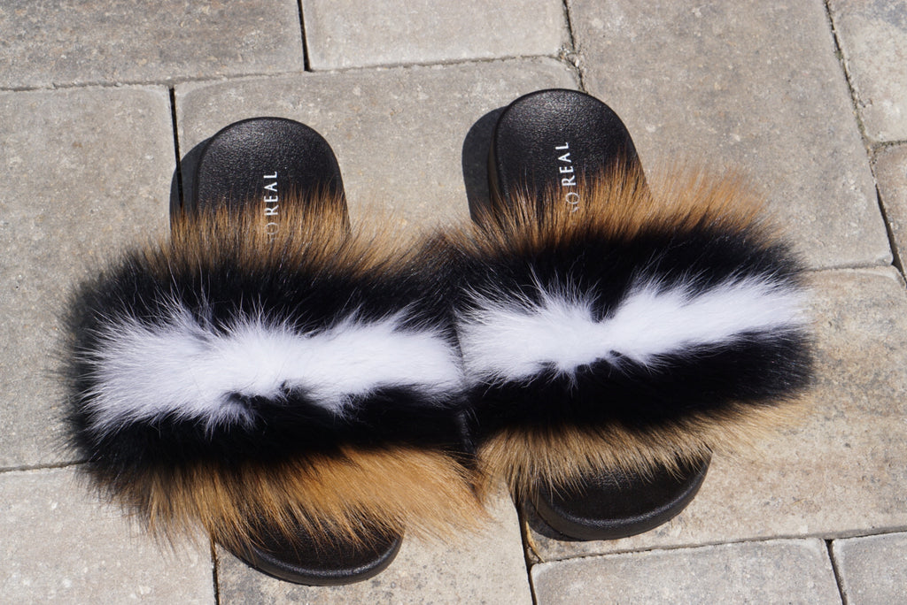 Red Jersey Fox Slippers - SHOP SO REAL