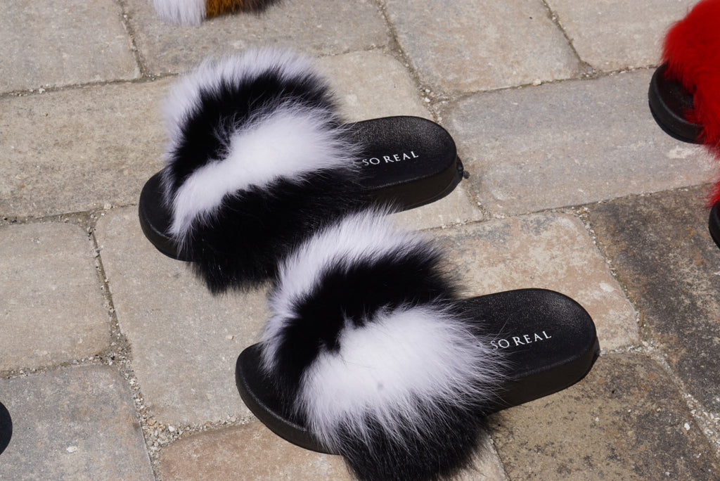 Skunk Fox Slippers - SHOP SO REAL
