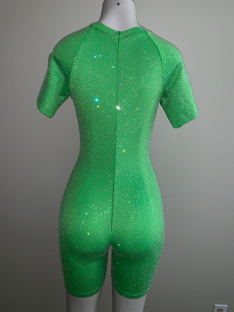 Freeze Tag Bodysuit — Lime Green - SHOP SO REAL